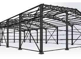 ساختمانهای فولادی و مزایا و معایب آنها