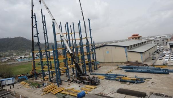 احداث ساختمان آموزشی دانشگاه آزاد واحد لاهیجان